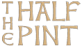 The Half Pint logo brown