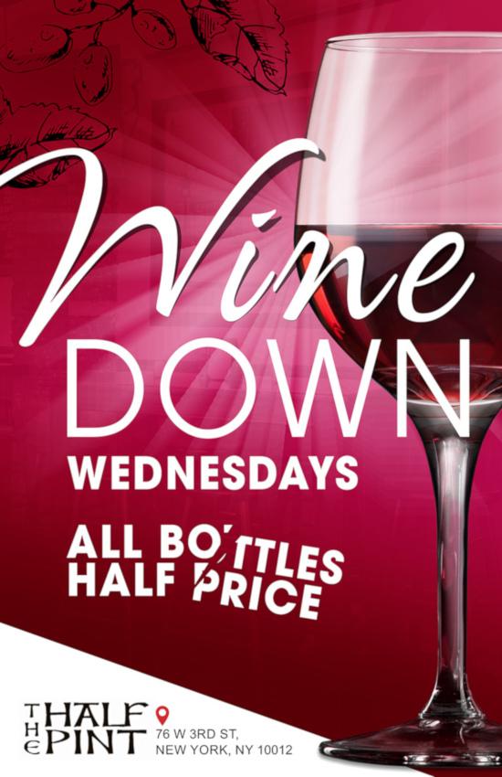 wine down flyer