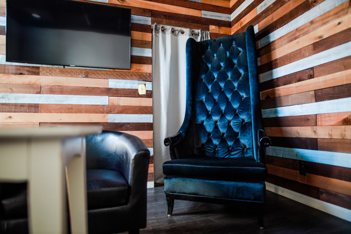 Interior, big chair