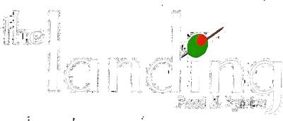 The Landing logo top