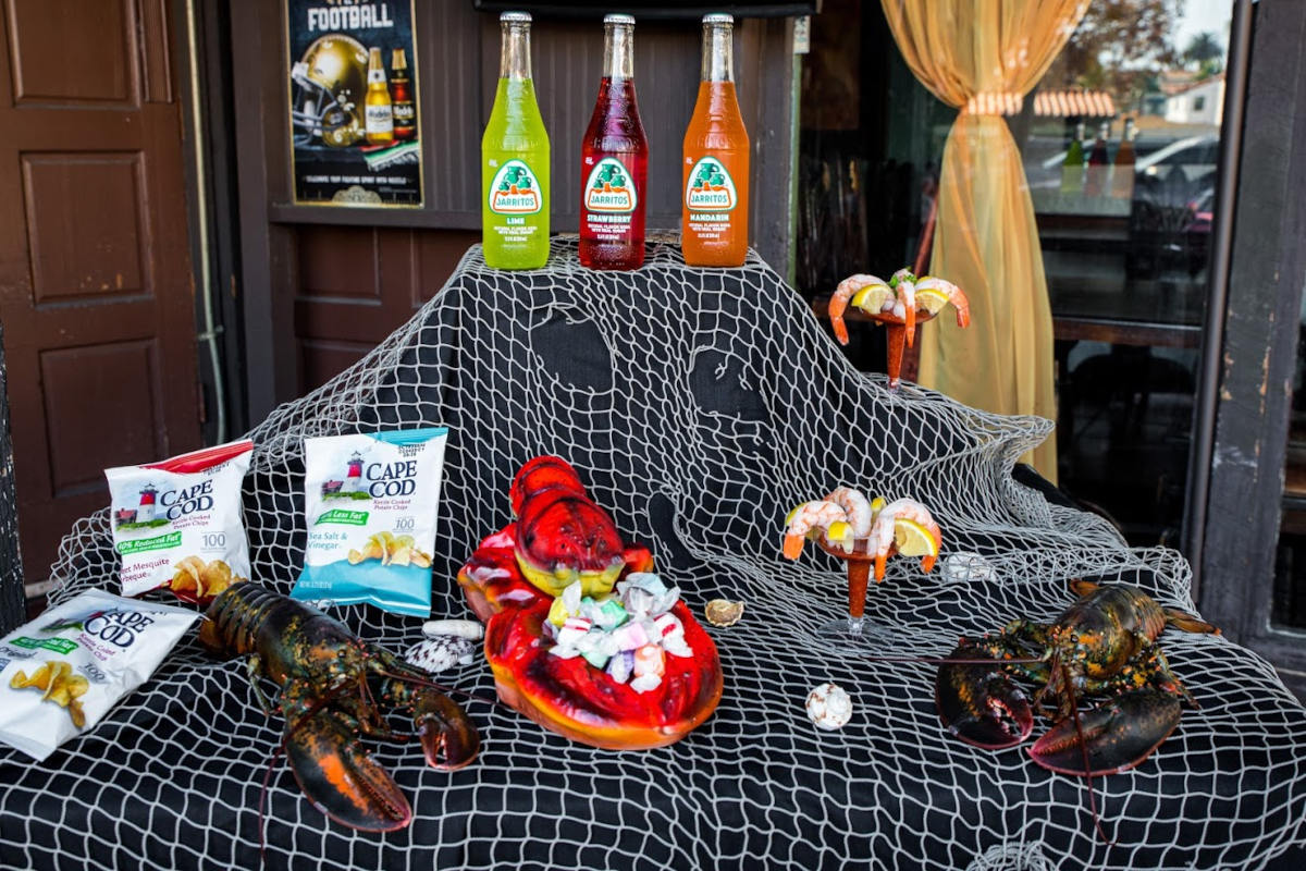 Lobsters and restaurant products
