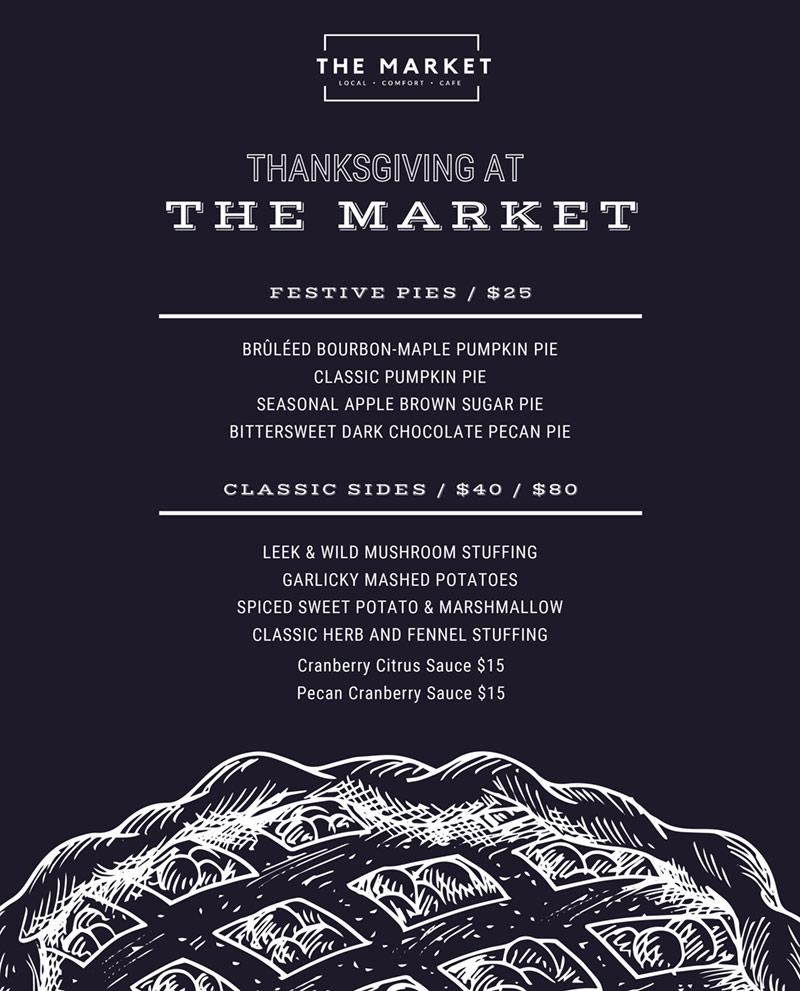 thanksgiving at market