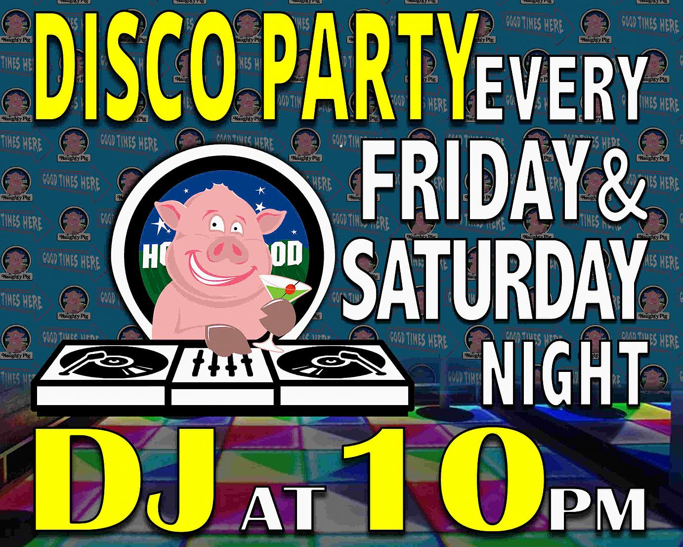 disco party flayer