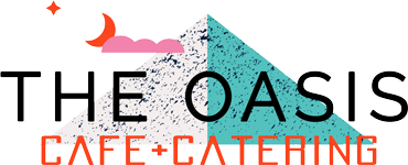 The Oasis Cafe logo scroll