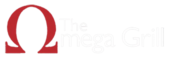 The Omega Grill logo top