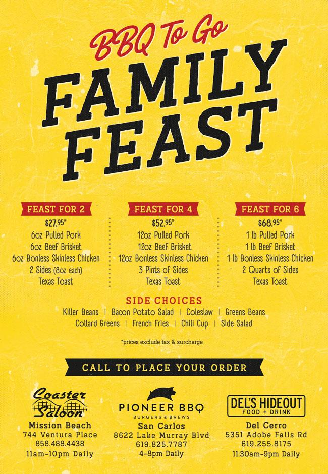 BBQ family feast
