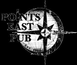 Points East Pub logo top