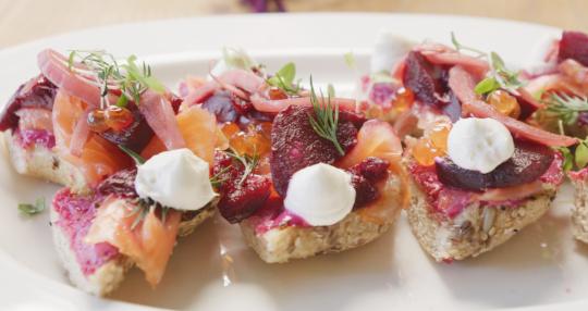 nova salmon bagel