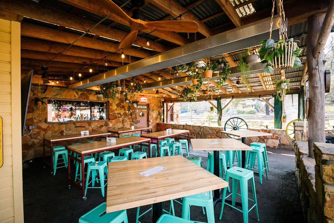 The Shady Grove enclosed patio