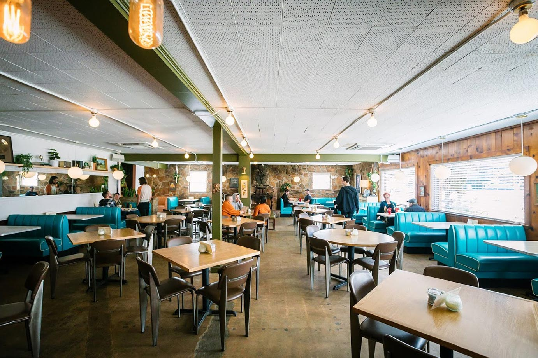 The Shady Grove dining room