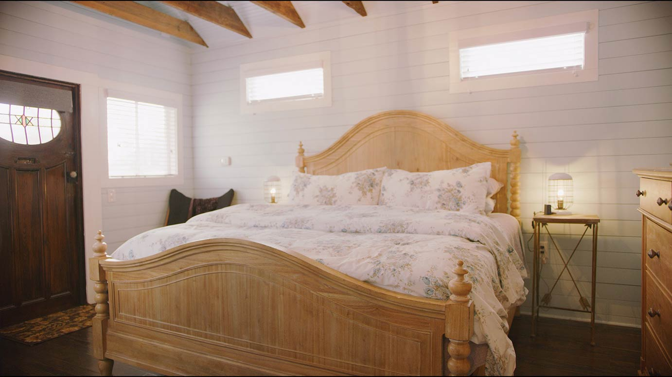 Bedroom with a large bed