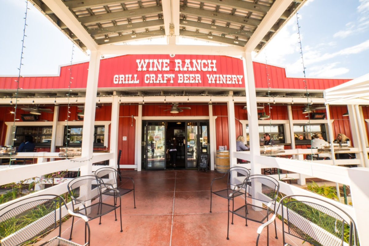 Wine Ranch entrance