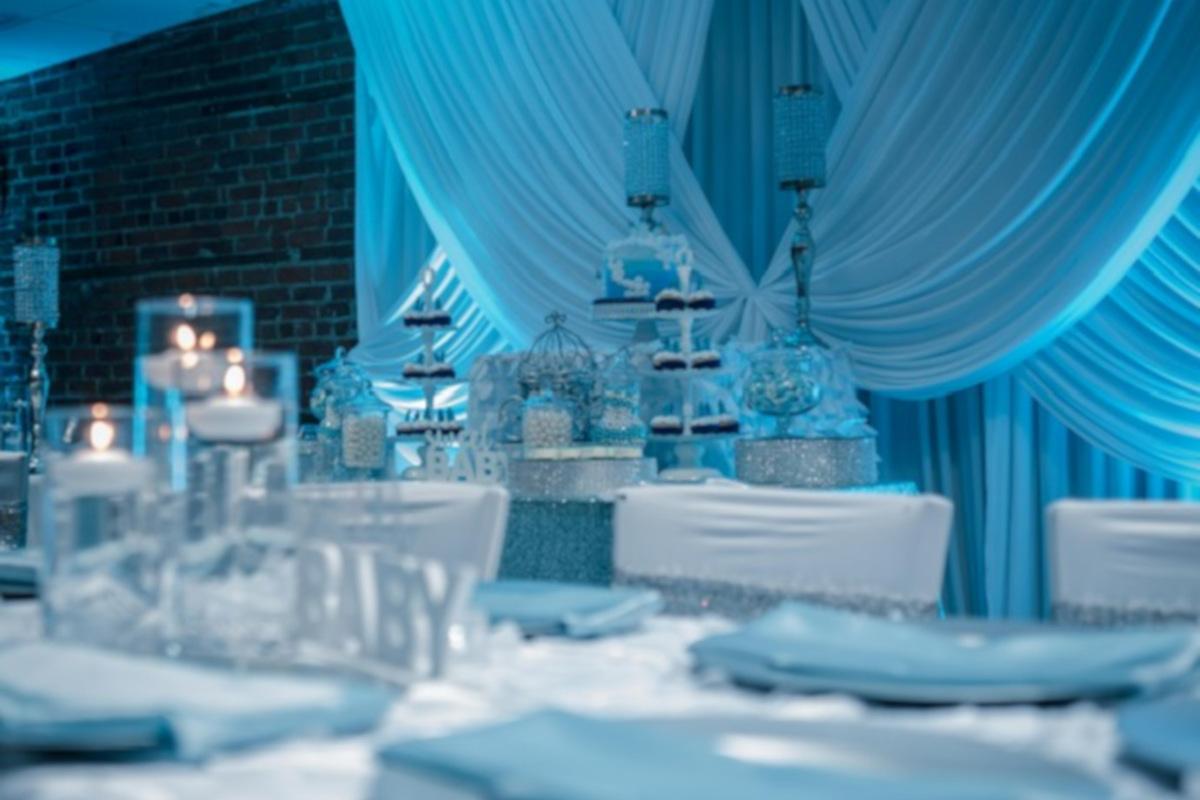 Restaurant interior, decorations