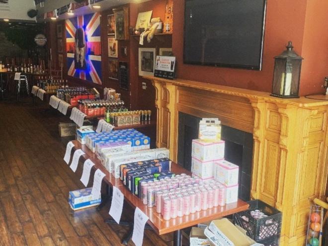 supplies at Three Lions