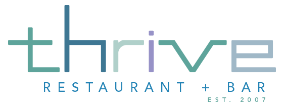 Thrive logo scroll