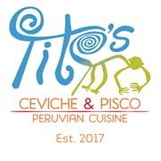 Tito's Ceviche & Pisco logo top