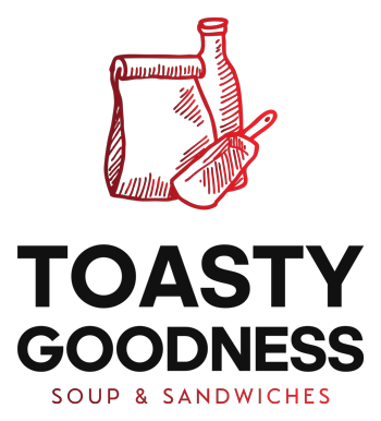 Toast Fine Food & Coffee logo scroll