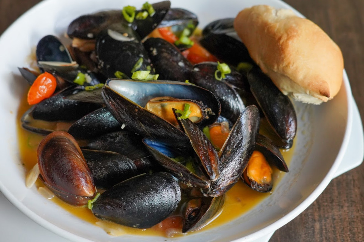Clams with spices: