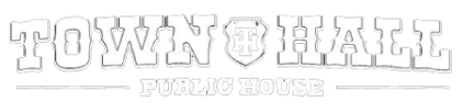 Town Hall Public House logo scroll