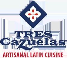 TRES Cazuelas Artisanal Latin Cuisine logo