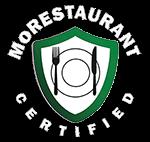 Morestaurant certified logo