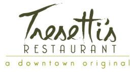 Tresetti's World Caffe logo top