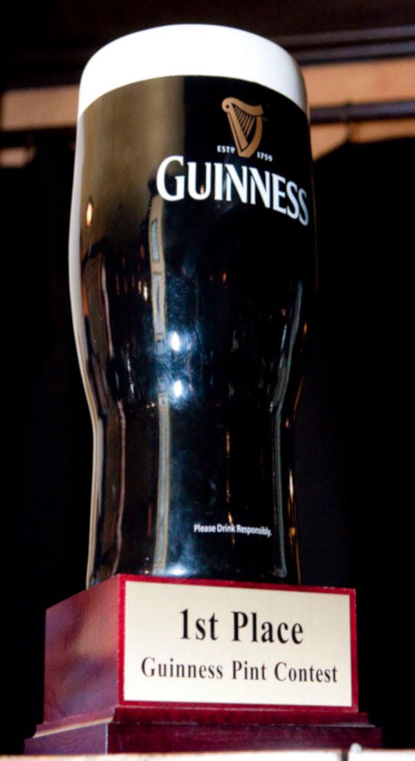 Best Pint of Guinness award