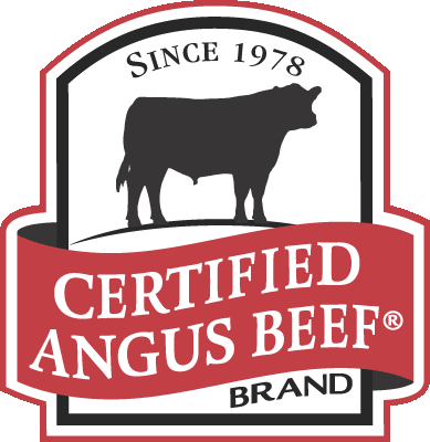 Angus Beef brand flyer