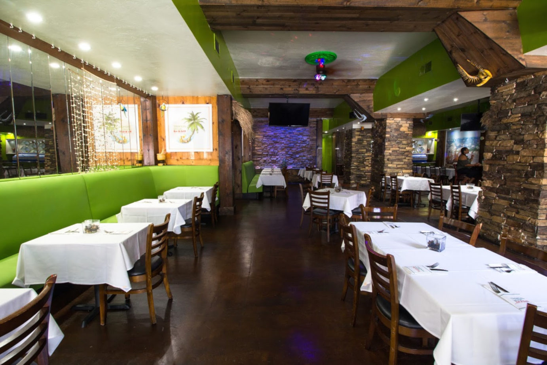 Tropical Savor Bar & Grill interior 1
