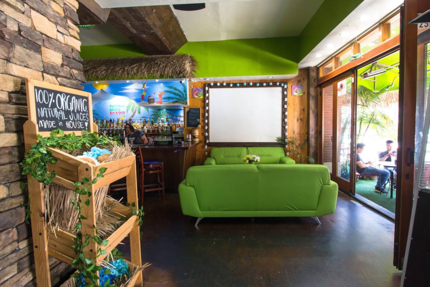Tropical Savor Bar & Grill interior 2