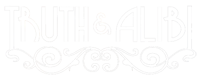 Truth and Alibi logo top