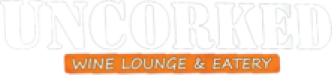 Uncorked Wine Lounge & Eatery logo scroll