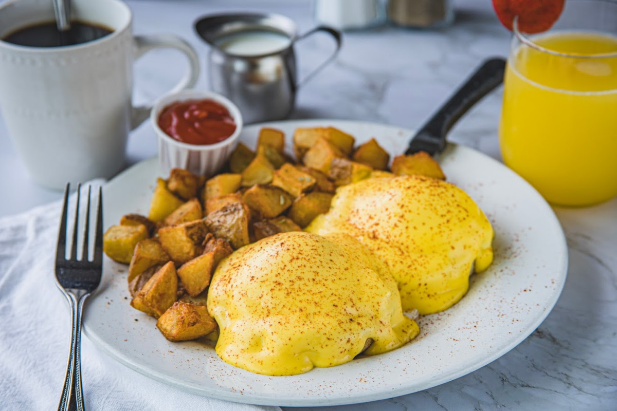 Home Fries and eggs
