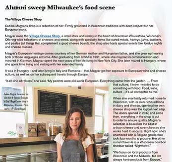 Milwaukee's food sceene