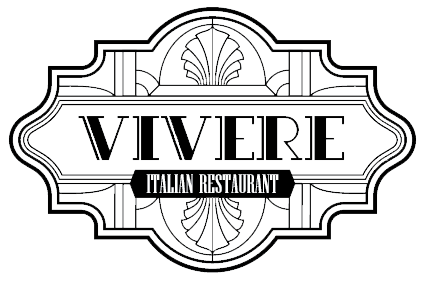 Vivere Italian Restaurant logo scroll