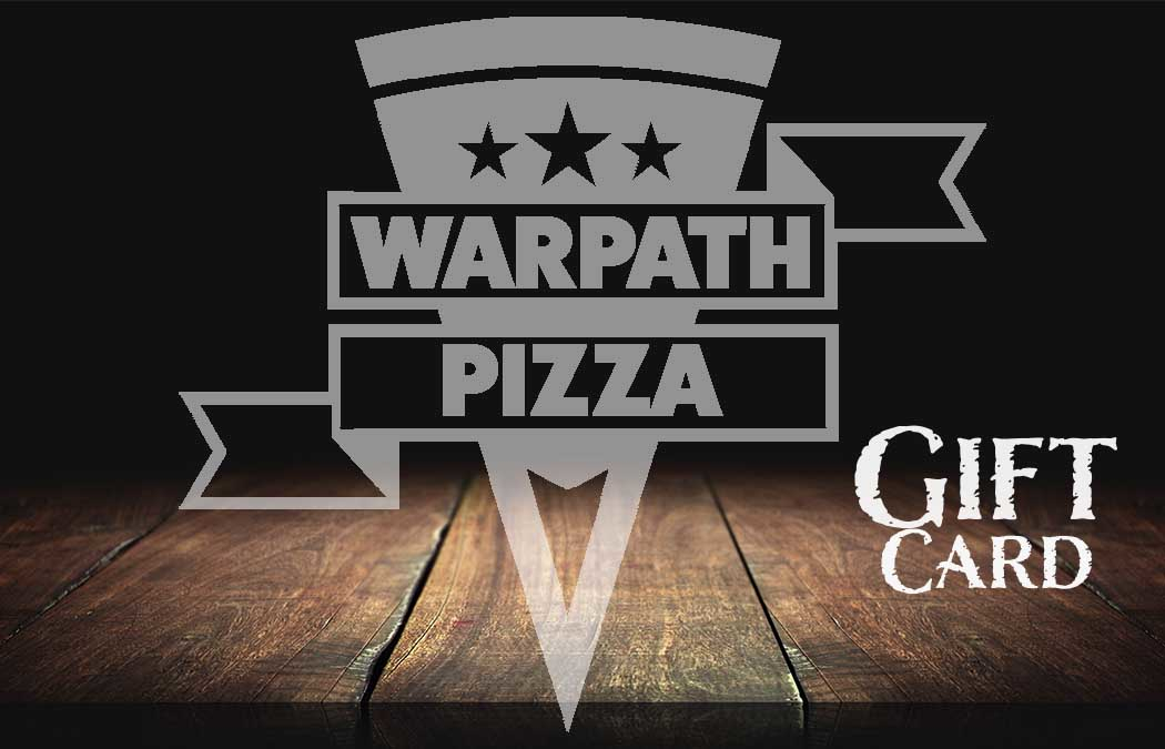 warpath pizza gift cards photo