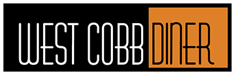West Cobb Diner logo scroll