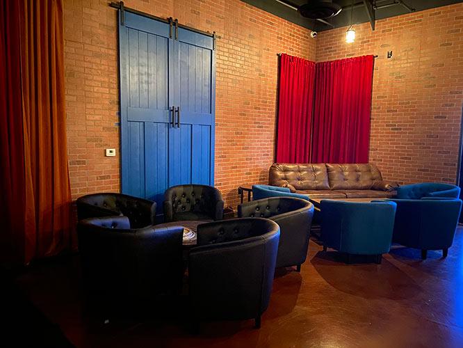 Interior, lounge area