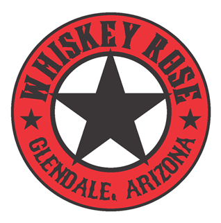 Whiskey Rose logo scroll