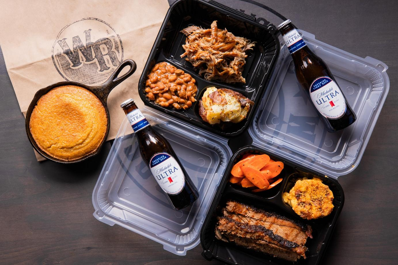 food meals with beer