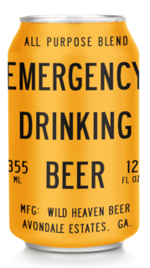 Emergency Drinking Beer photo