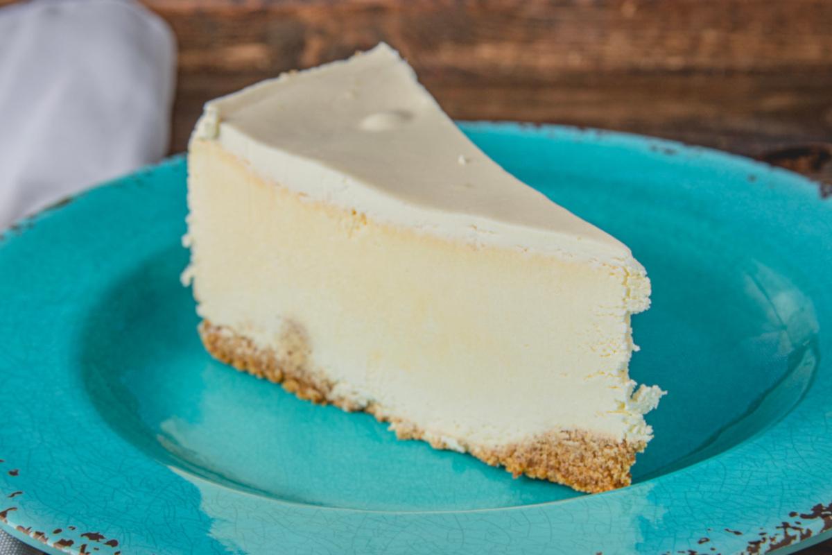 White cake closeup