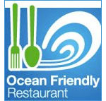 ocean friendly restaurant logo