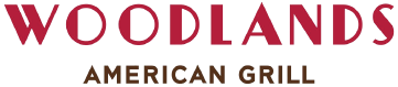 Woodlands American Grill logo scroll