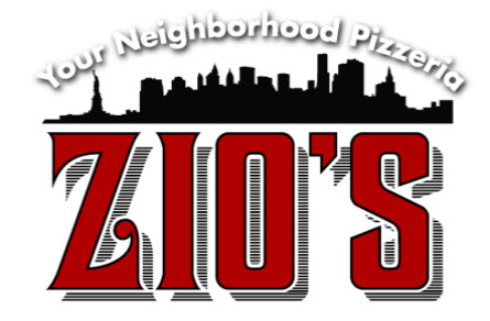 Zio's Pizza and Wings logo top
